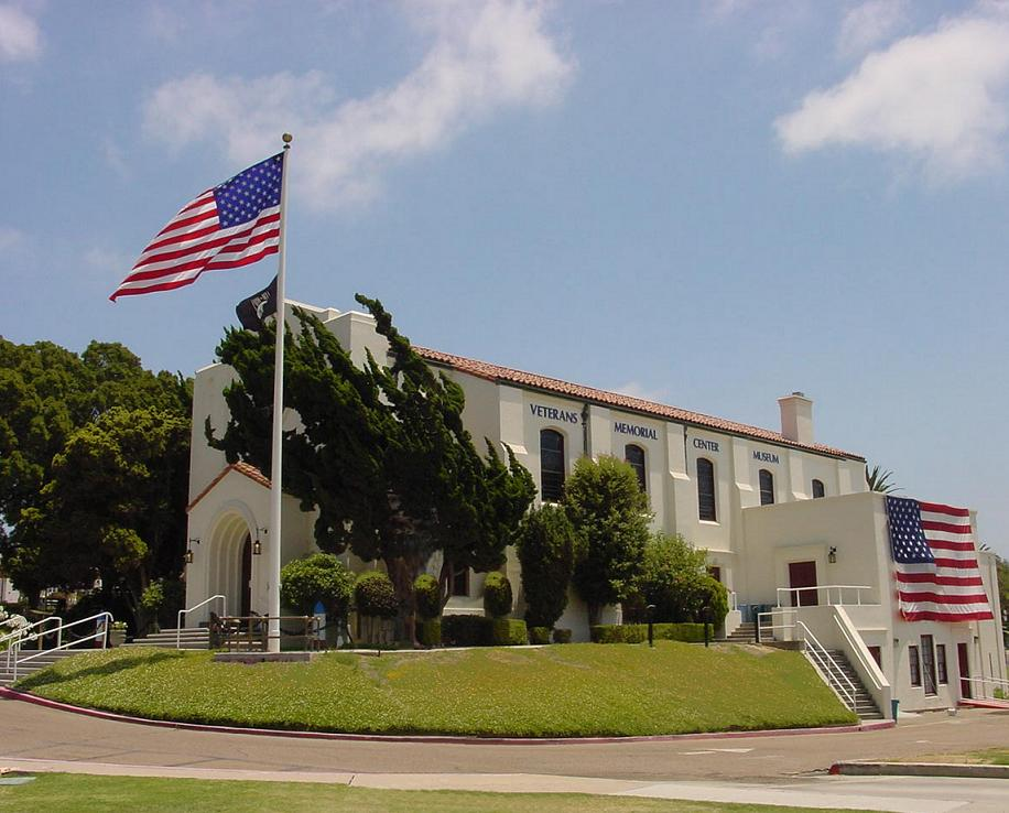 The Veterans Museum and Memorial Center, housed in the former San Diego Naval Hospital Chapel