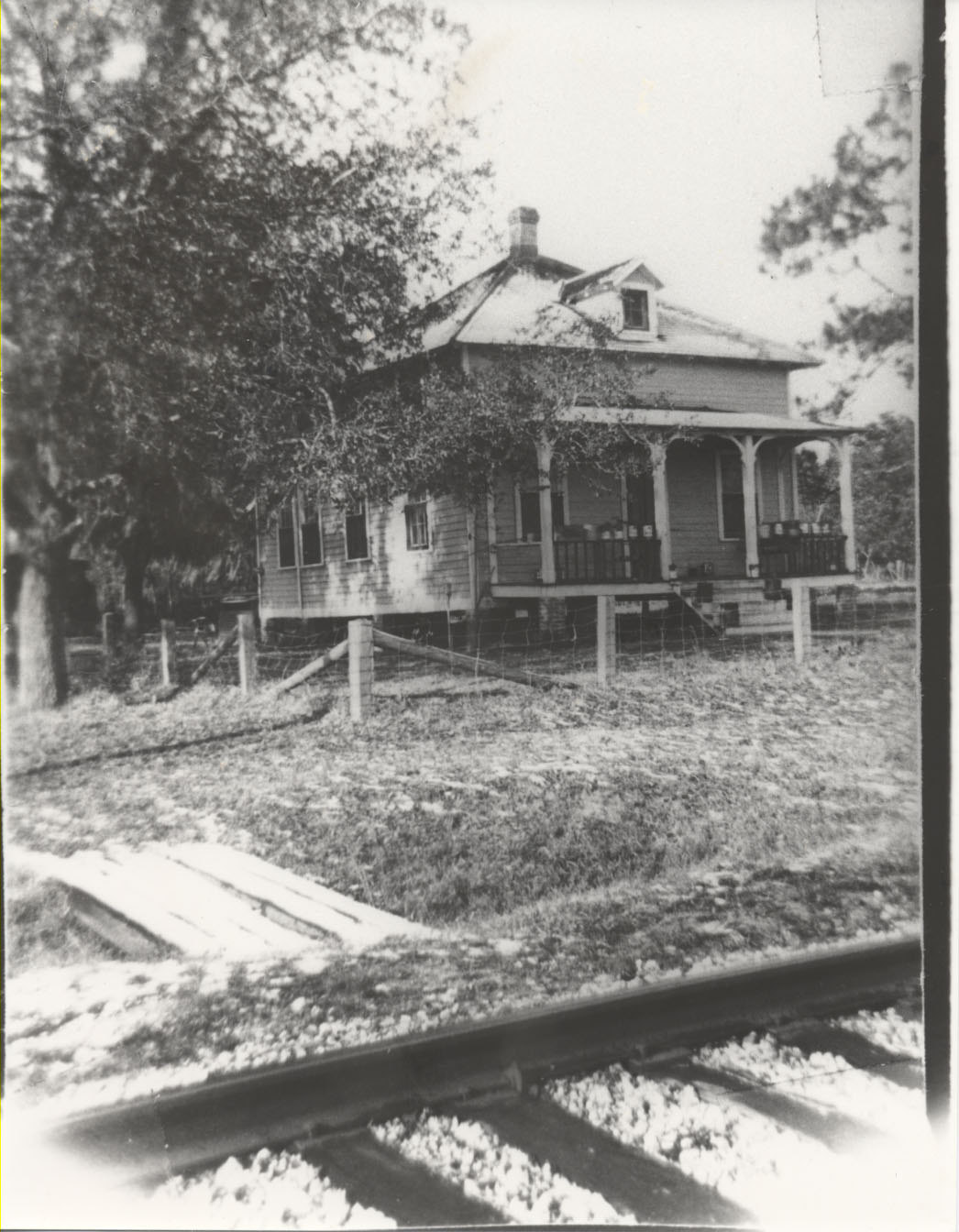 The F.E.C. house as it appeared in 1900