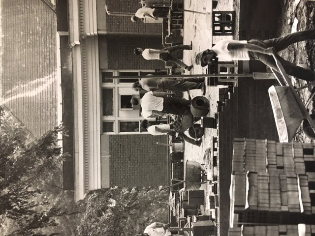 Construction of a new wing, the Burt Vincent Memorial Library, was added to the Carnegie Library in 1973, making it the Carnegie-Vincent Library.