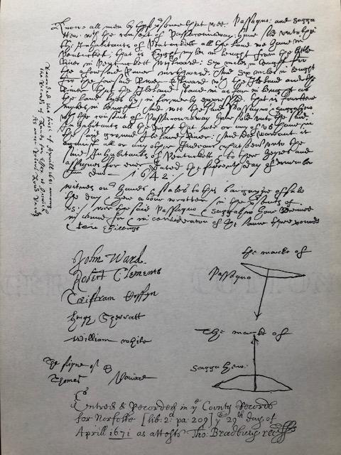 Haverhill Deed (1642)
