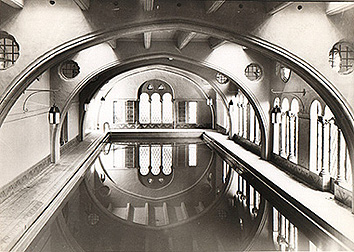 The Plunge Pool at the Berkeley City Club, c. 1930s