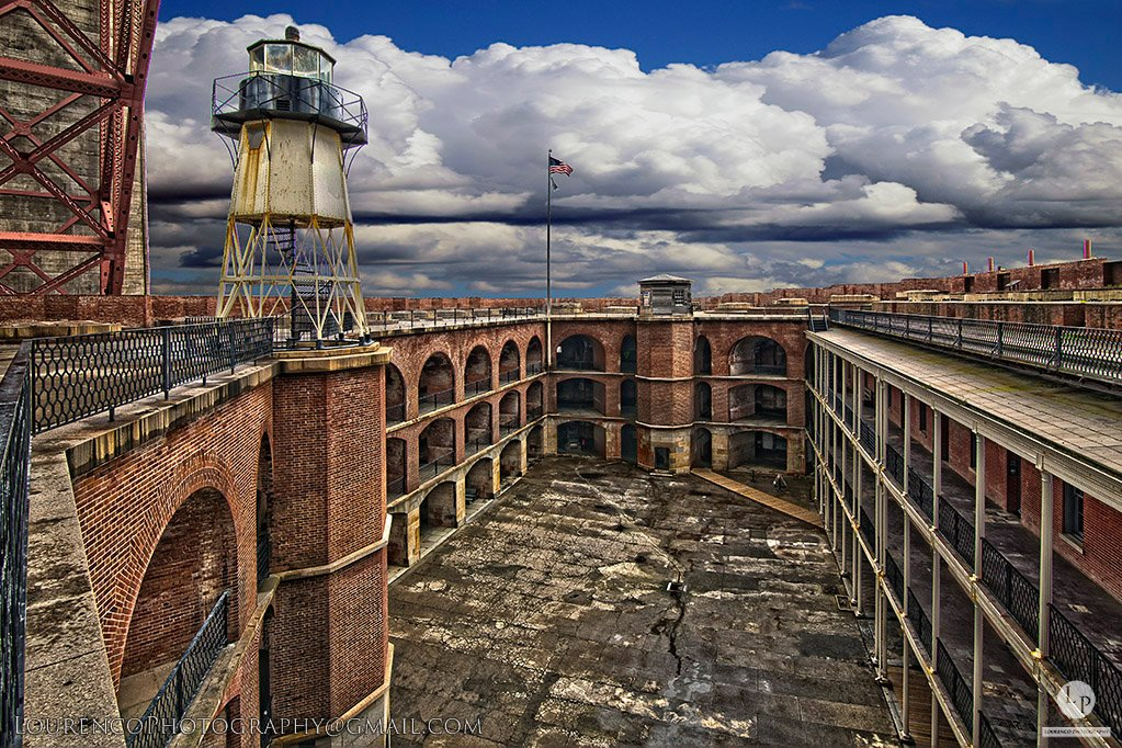Fort Point was built between 1853-1861 in response to San Francisco's increased importance as an economic center after gold was found in 1848, starting the period that would become known as the Gold Rush (1848-1855).