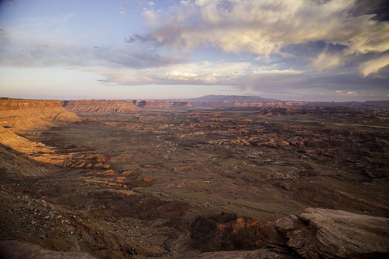Sunset in Indian Creek - US Bureau of Land Management (2016)