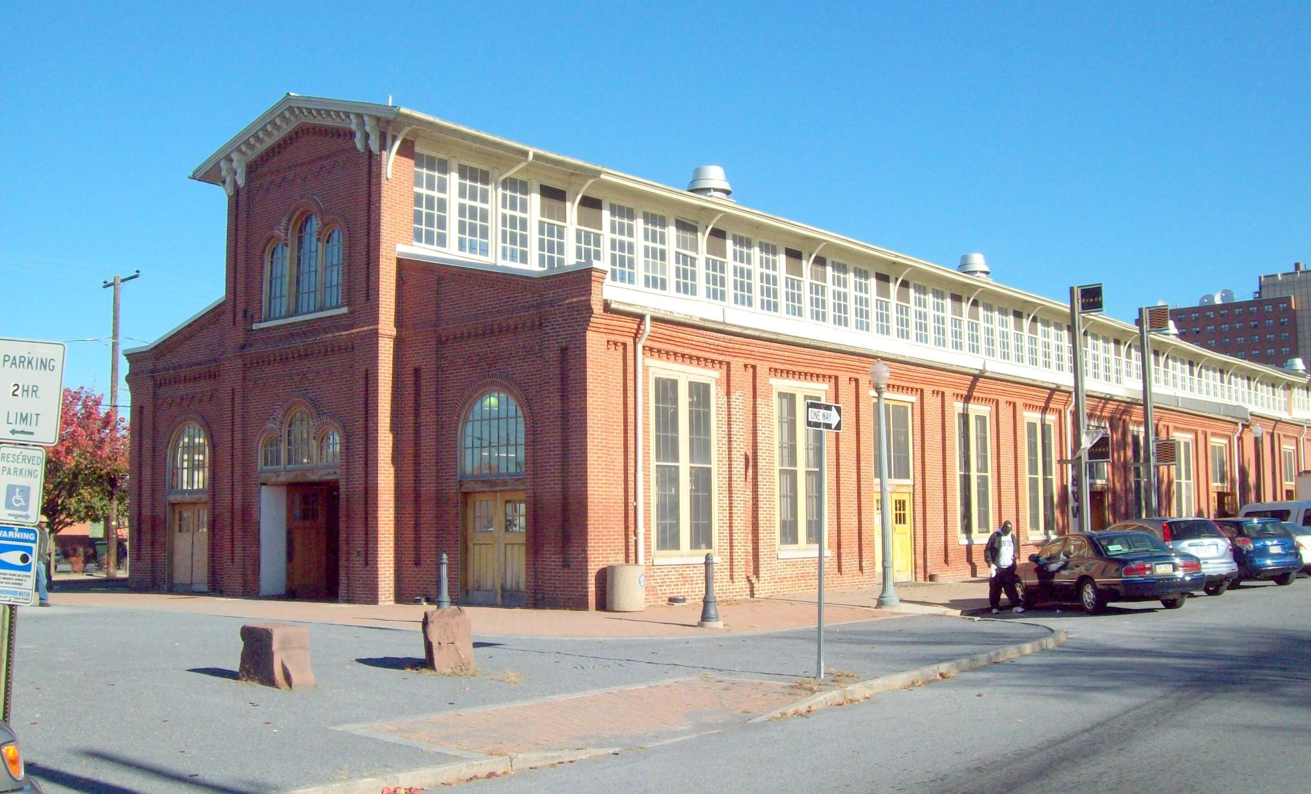 And the market's 1878 Brick Market House were connected by a wooden market building for decades.