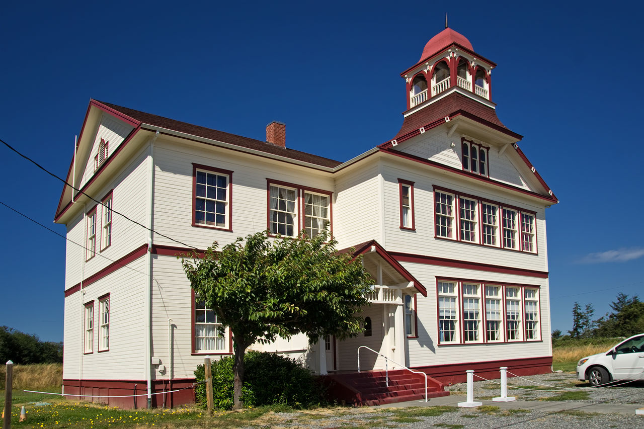Dungeness School was built in 1892 and expanded in 1921.