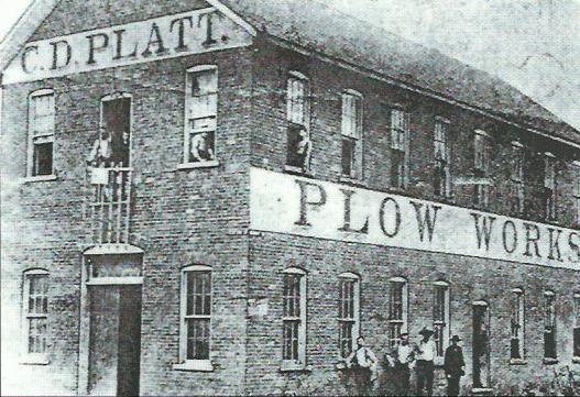 C. D. Platt Plow Works, c. 1880-85.