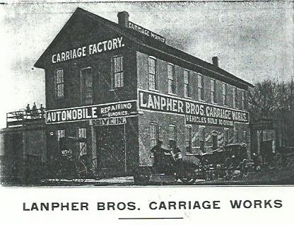 Lanpher Brothers Carriage Works, 1908.