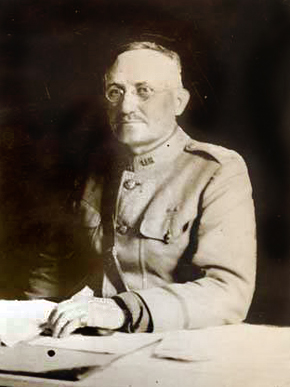 Major General William Luther Siber in his uniform