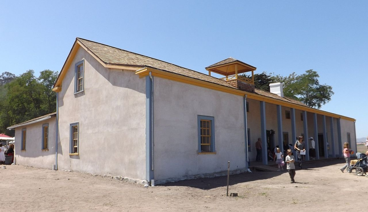 The newly restored Dana Adobe in Nipomo during their Heritage fiesta.