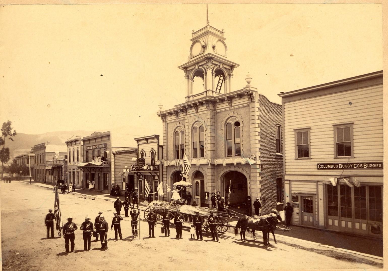 800 block of Higuera Street 1890-1920. HCSLO#1992.049.002