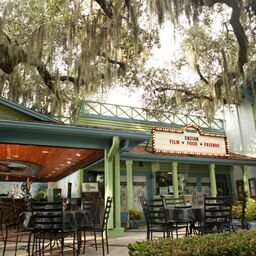 Eden bar nestled under the moss draped trees will provide a nice lunch or dinner with a perfect ending of a movie.