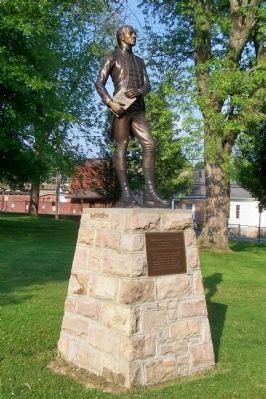 Statue of Marquis de Lafayette