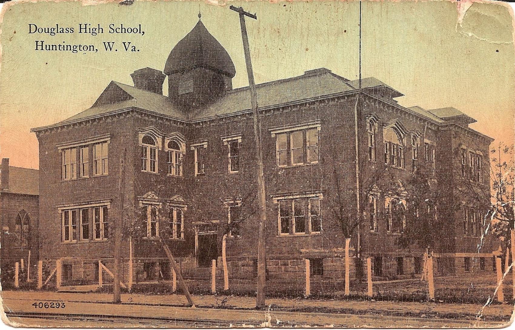 The first Douglass School, renamed Barnett Elementary in 1926