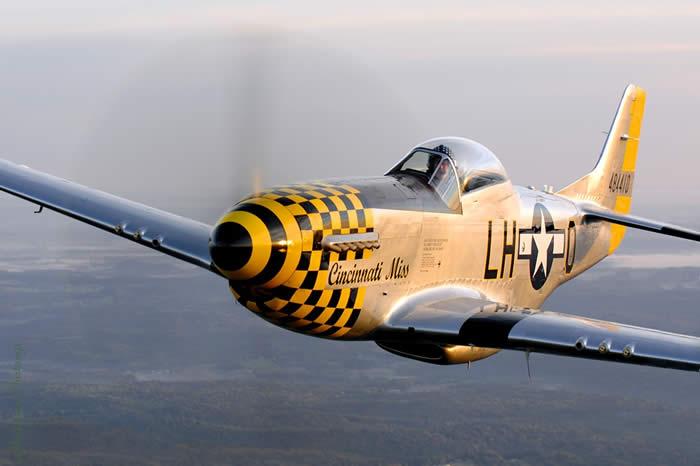"""P-51D Mustang- """"Cincinnati Miss."""""""