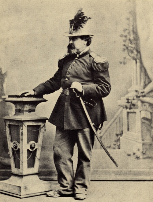 Emperor Norton I in full regalia