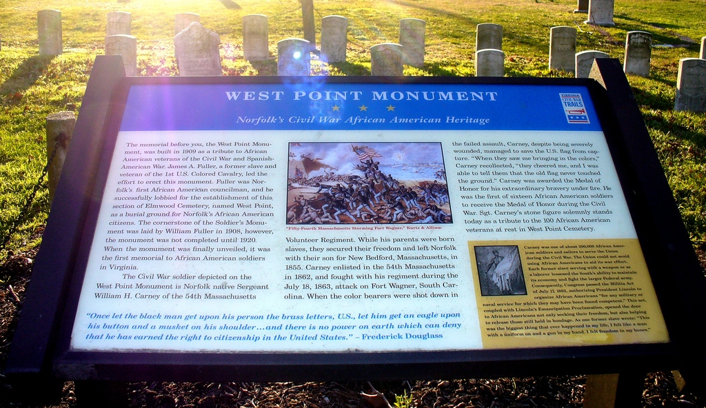 West Point Memorial Marker