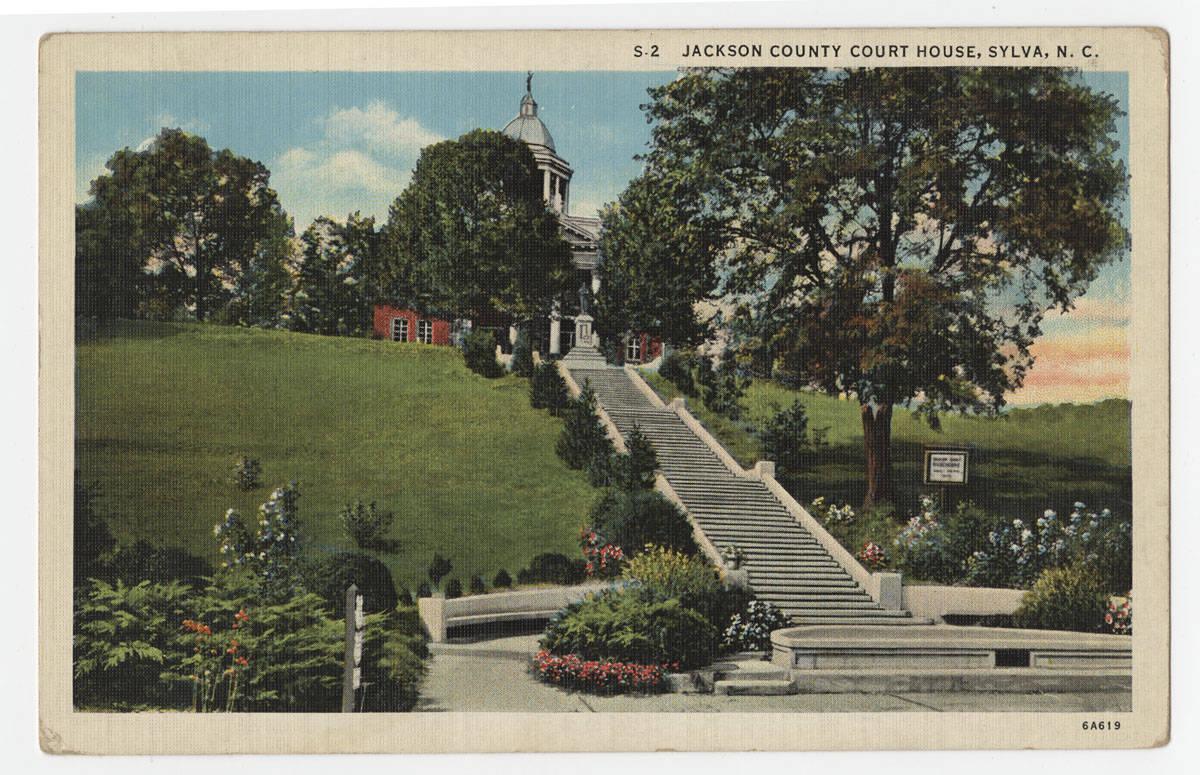 Courthouse Postcard - ca.1930-45