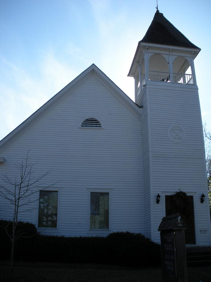 Ebenezer Missionary Baptist Church was built in 1870 by newly freed slaves. Today it is home to the Auburn Unitarian Universalist Fellowship.