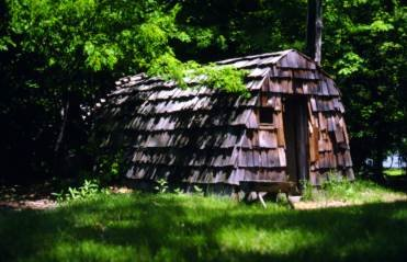 One of the cottages at the Salem Pioneer Village (Photo Courtesy of Salem Tales)