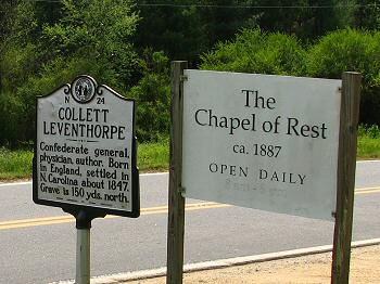 Historic Marker - The Chapel of Rest