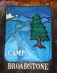 Camp Broadstone sign