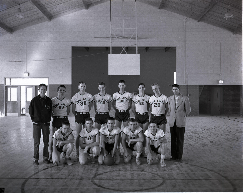 Men's basketball, 1957.