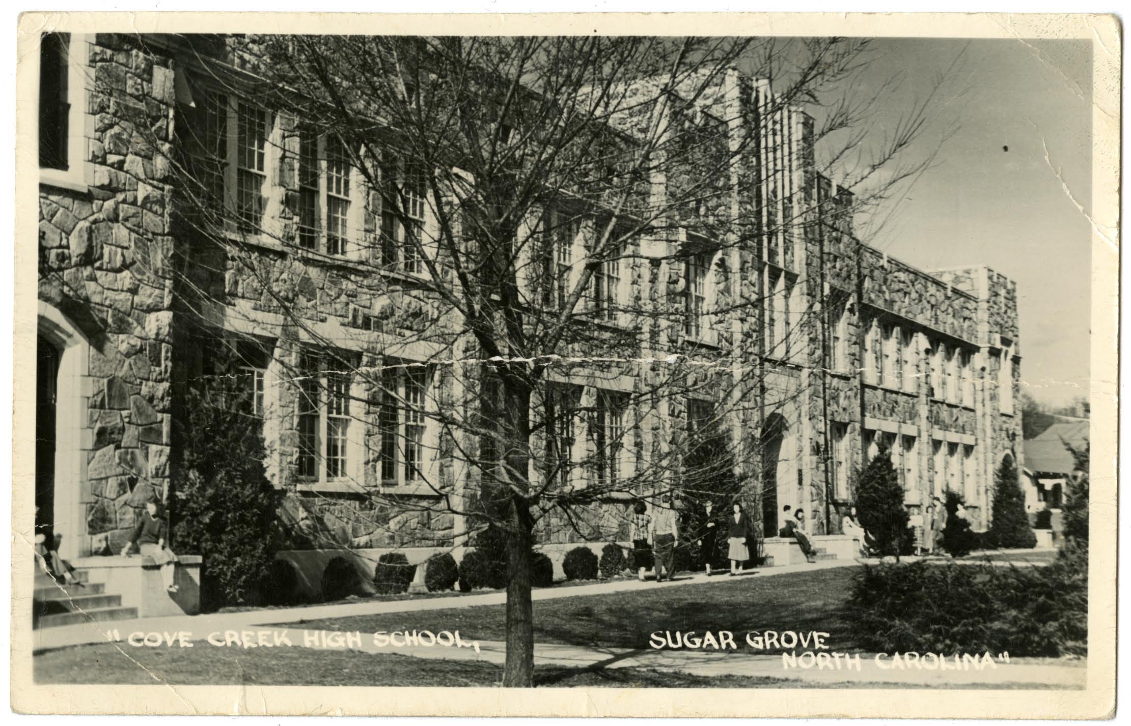 Postcard, 1949.