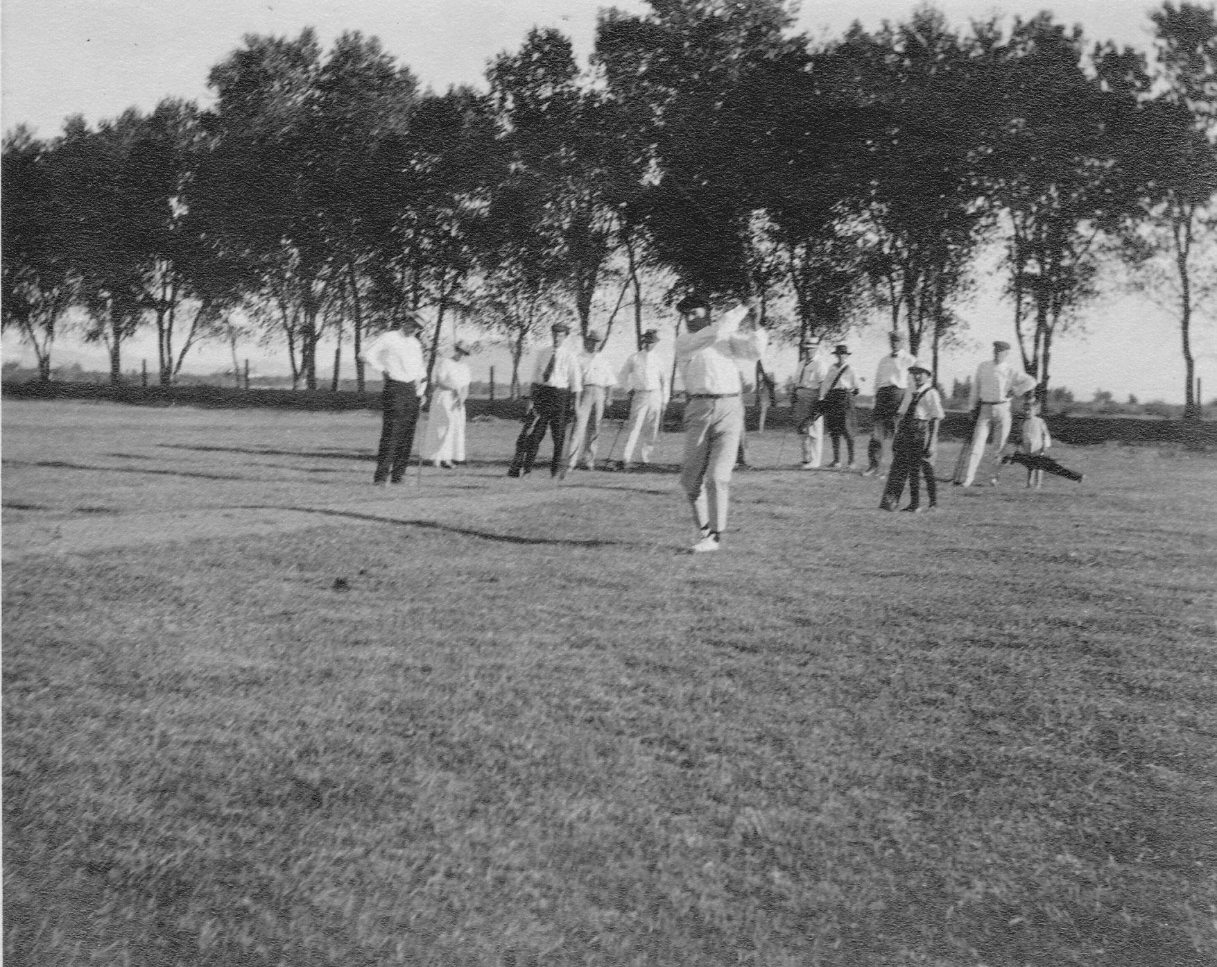 Original San Marcos Hotel Golf Course, 1913