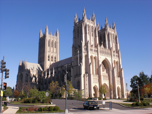 Washington National Cathedral was the site of state funerals for Presidents Eisenhower, Ford, and Reagan.