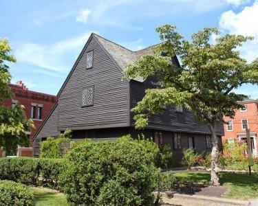 2013 photo of the John Ward House (photo courtesy of Lost New England)