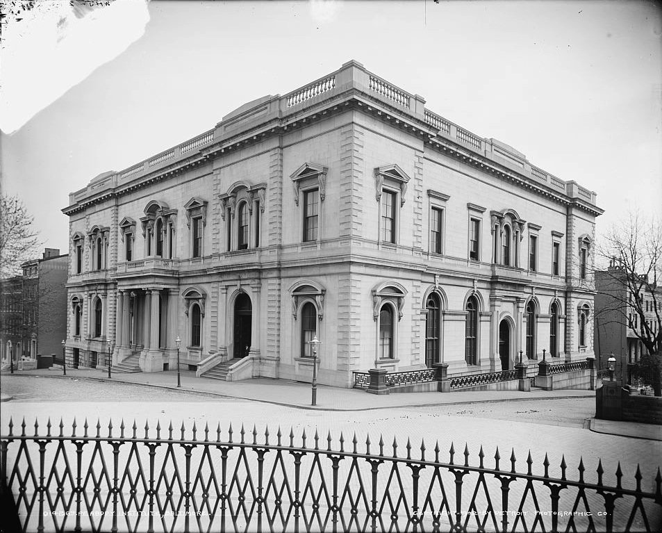 The Peabody Institute in 1902.