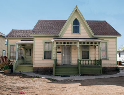 The Borland-Clifford House was constructed ca. 1863 and is one of the oldest homes in Reno.