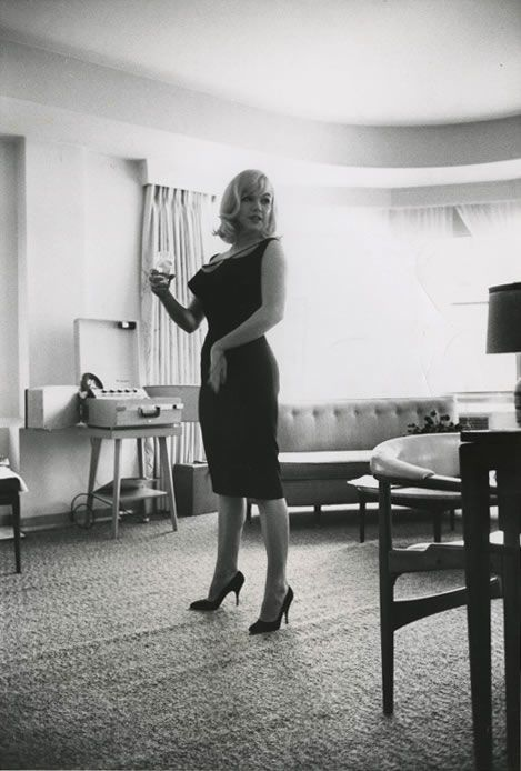 Marilyn Monroe stayed in a suite at the Mapes Hotel during the filming of The Misfits.
