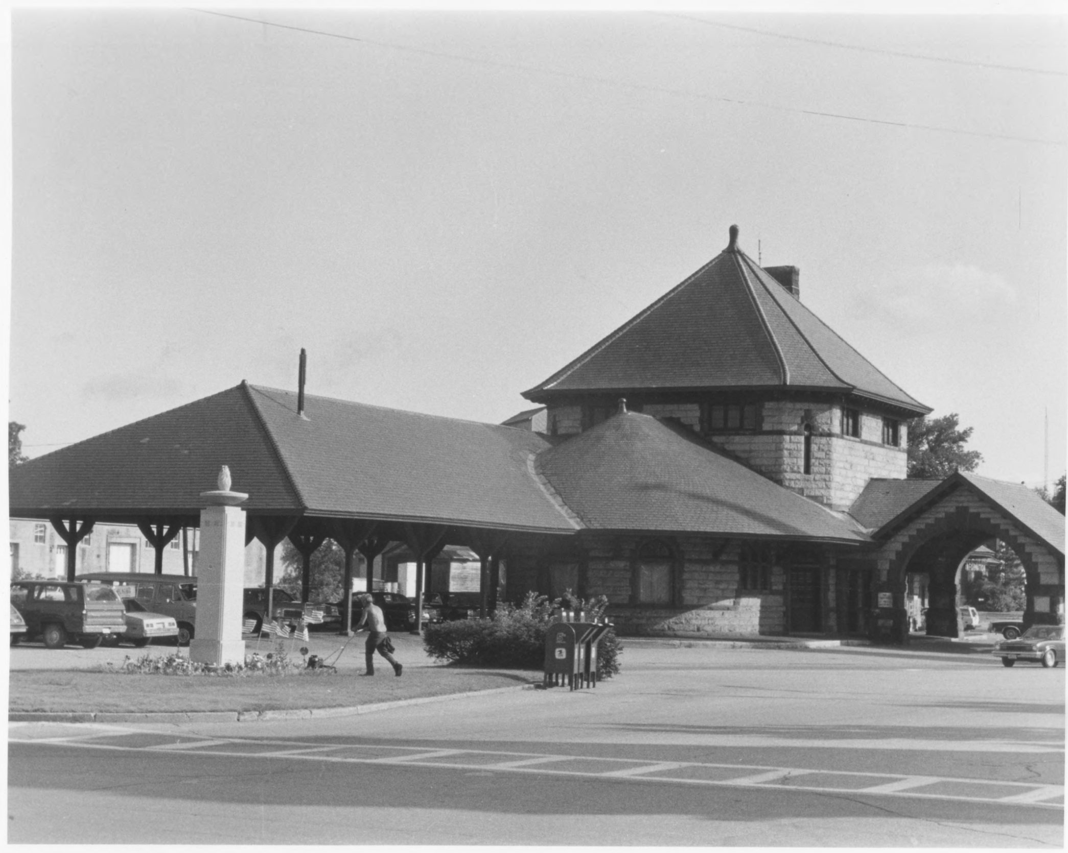 Laconia Station Southern Exterior by Roger P. Akeley, Jr. In July of 1981 Provided by NPS NRHP