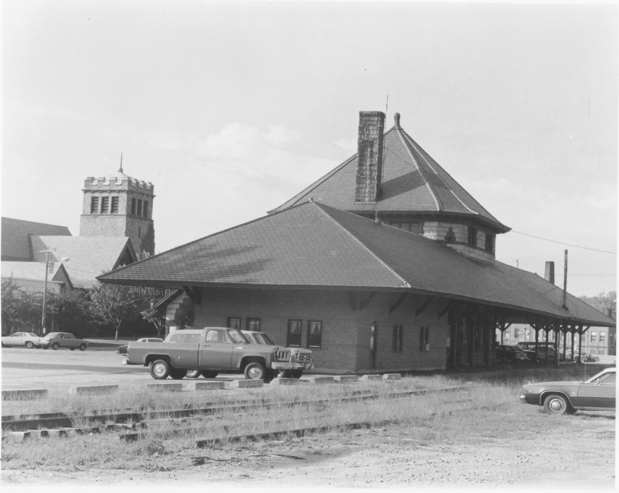 Northern Exterior of Laconia Station by Roger P. Akeley, Jr. In July of 1981 Provided by the NPS NRHP