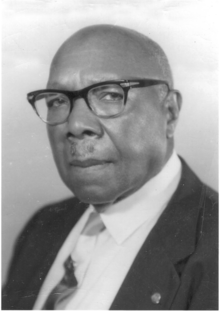 Anderson Hunt Brown, 1880-1974;  butcher, musician, real estate businessman,  and civil rights leader.