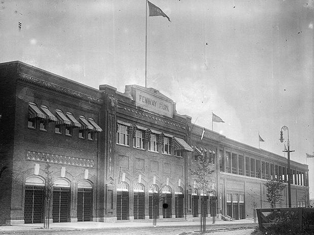 Fenway in 1912