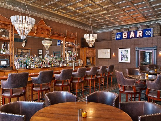 The hotel's famous J-Bar