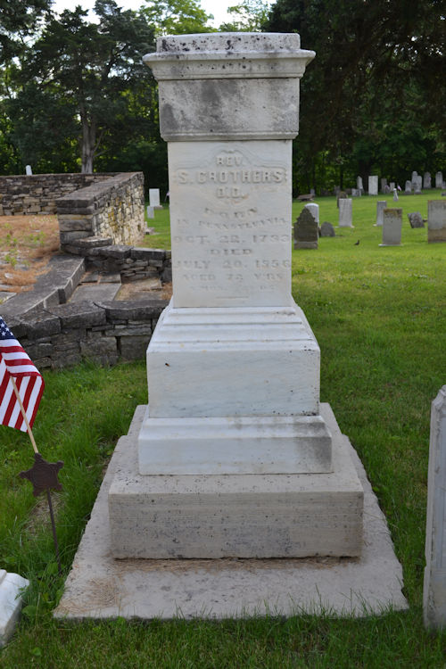 Rev. Samuel Crothers monument