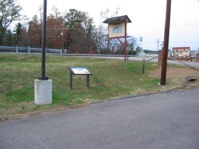 Portion of Swift Creek Battlefield as it looks today. Only a small portion of the battlefield has been preserved.