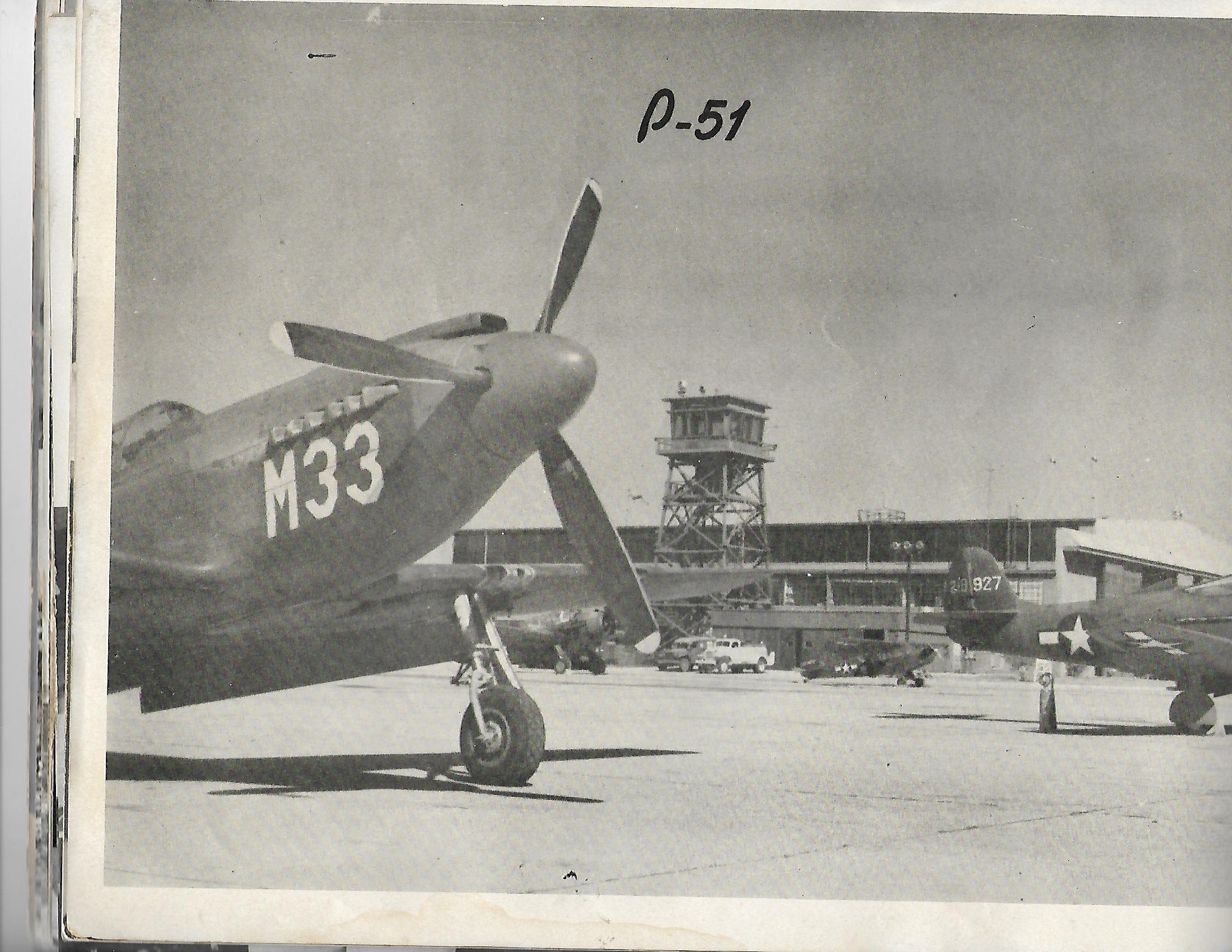 From the DeRidder Army Air Base vintage publication