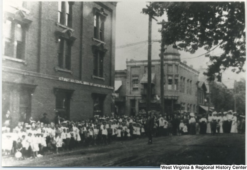 First National Bank, circa 1890. Source: WV History OnView.