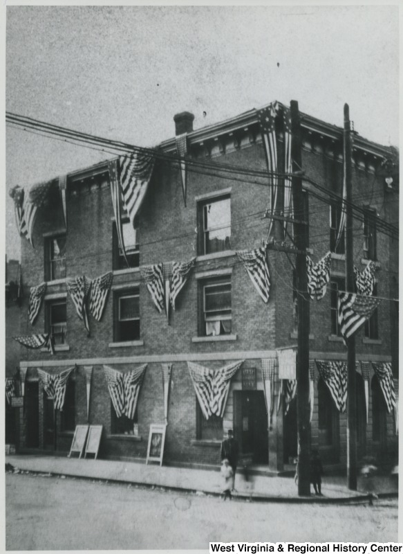 First National Bank, circa 1920. Source: WV History OnView.