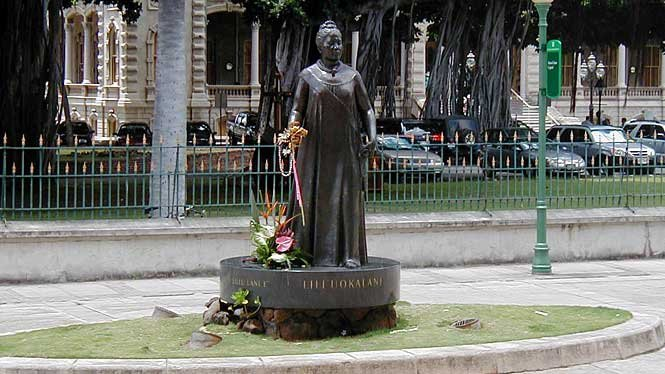 In face of war, she kept the peace to save her people and heritage. She promoted a Consitution for the people of Hawaii to be free and capable to make the right decisions.