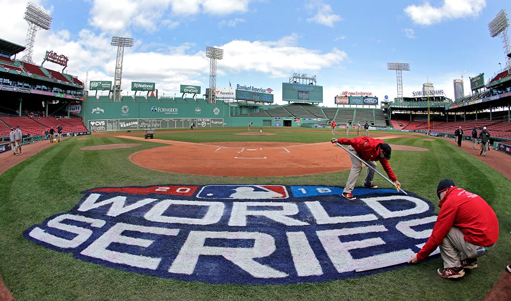 2018 World Series at Fenway