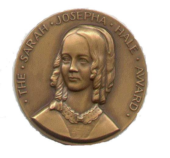 The Sarah Josepha Hale Award is presented annually since 1956 in New England by the trustees of the Richards Free Library in recognition of a distinguished body of work in the field of literature and letters.