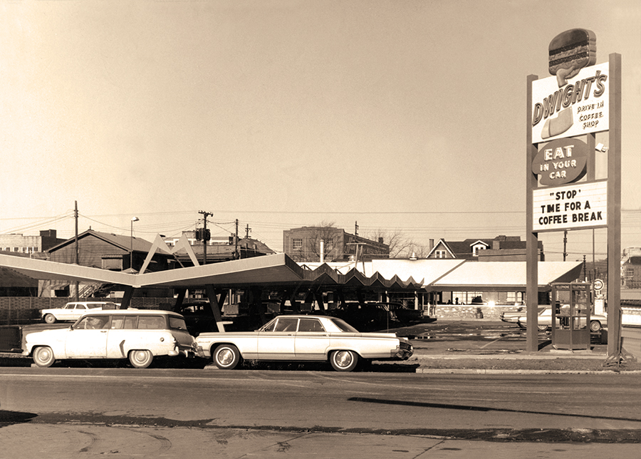 The original Dwight's Drive-In