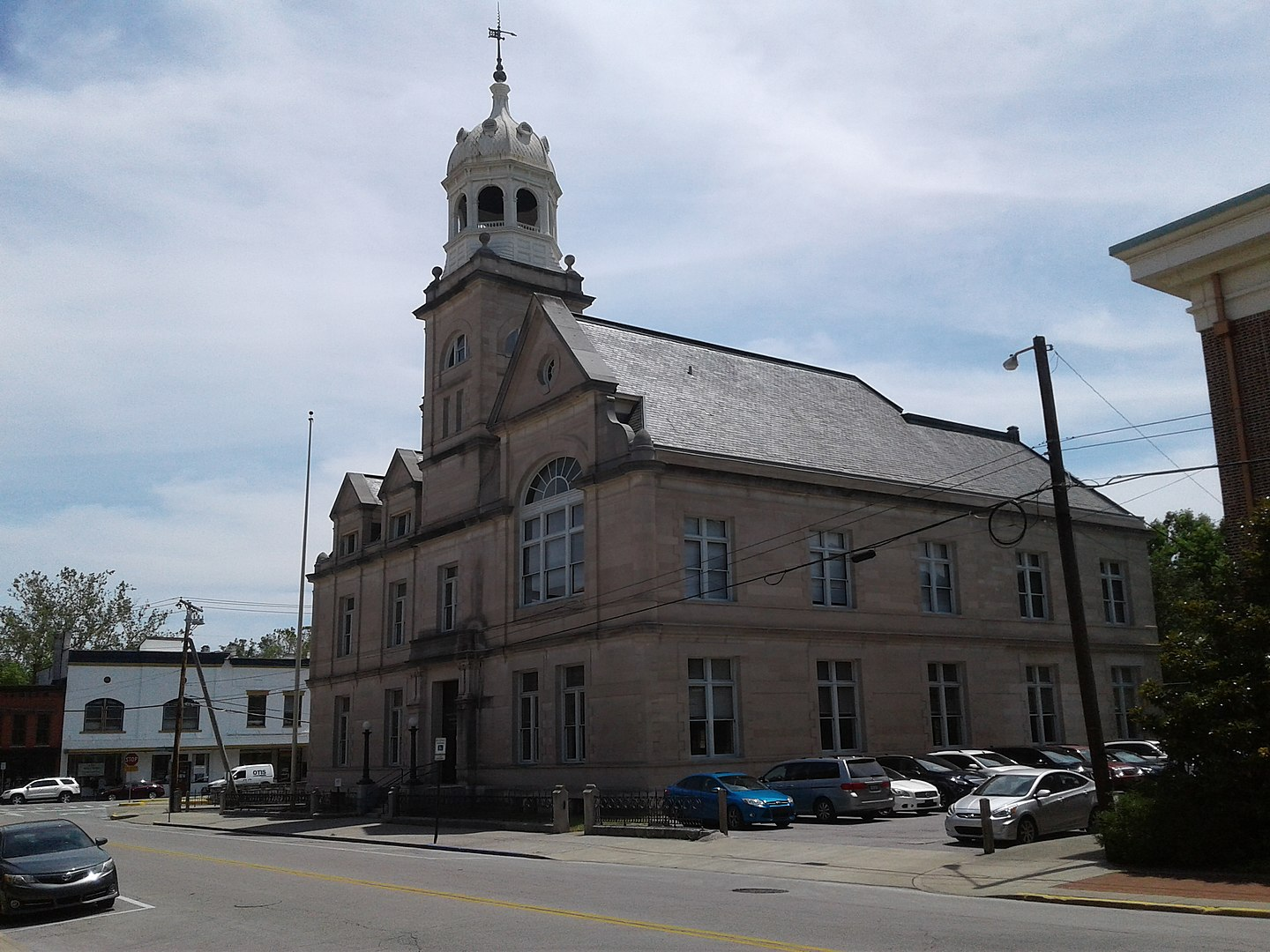 Old Federal Building, or Old United States Courthouse and Post Office, in Frankfort, Kentucky.