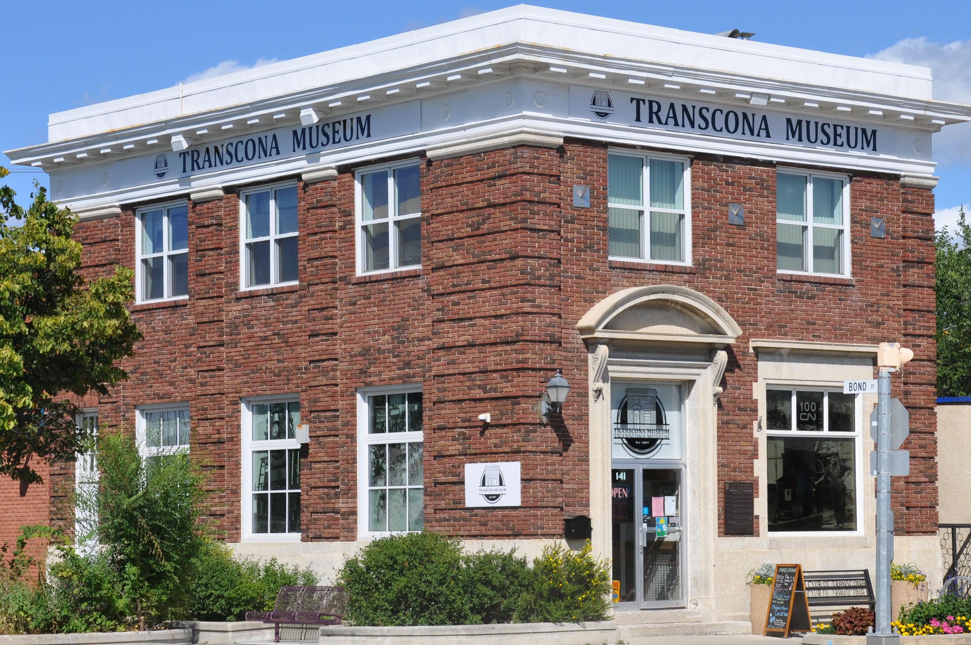 Transcona Museum at 141 Regent Avenue West