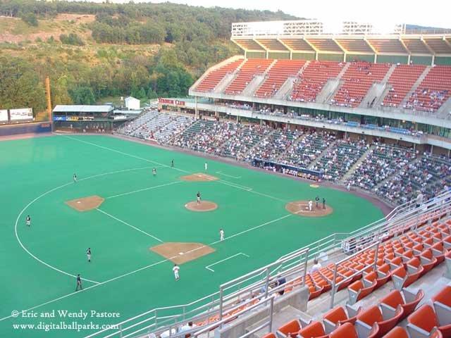 Lackawanna County Stadium   CREDIT : http://www.digitalballparks.com/International/Scranton_640_7.html